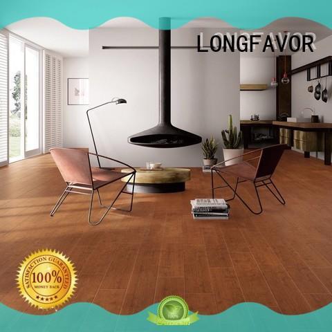 LONGFAVOR wooden outdoor wood tiles free sample airport