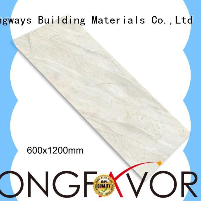 LONGFAVOR dn88g0c20 marble like porcelain tile excellent decorative effect School