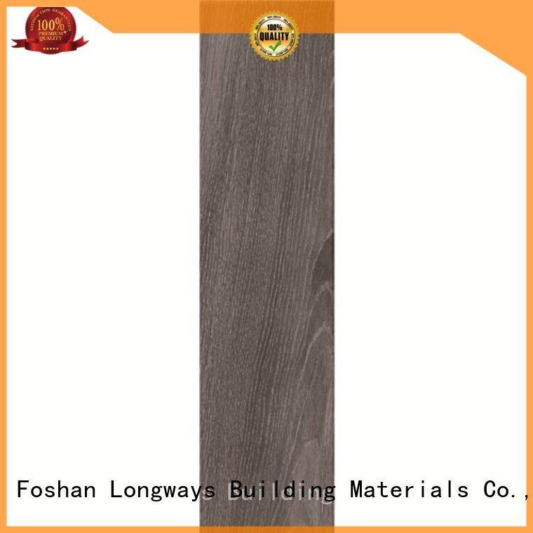 LONGFAVOR glossiness wood effect outdoor tiles buy now airport