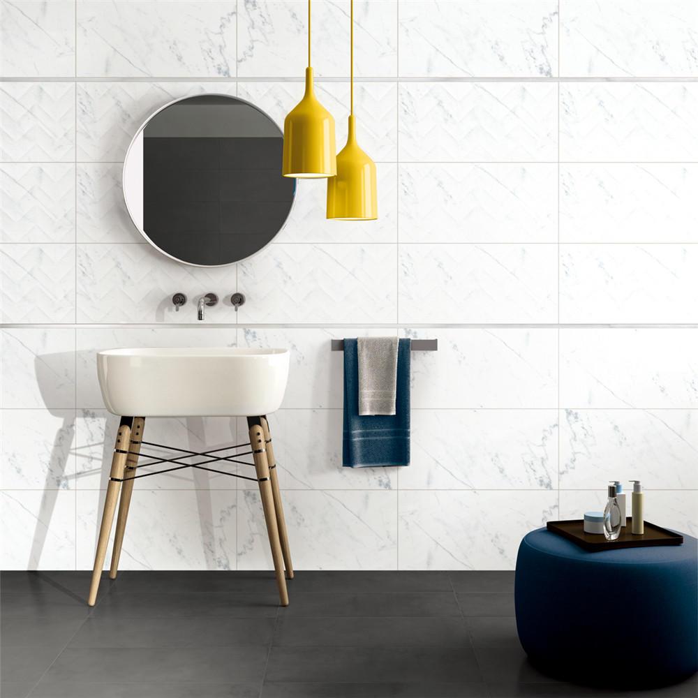 LONGFAVOR white 300x600mm Ceramic Wall Tile oem Coffee Bars-1