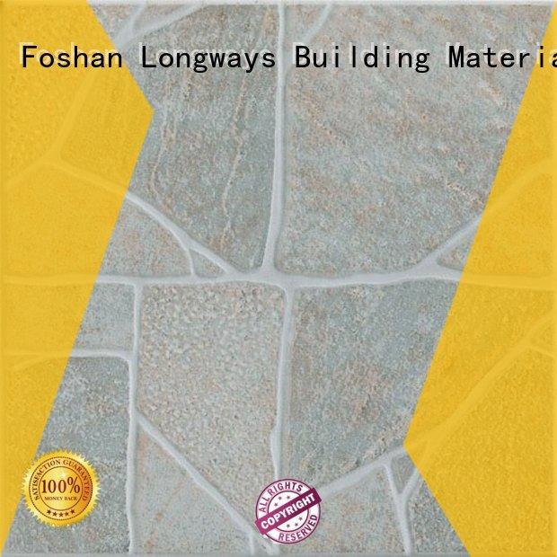 LONGFAVOR wooden 300x300mm Ceramic Floor Tile hardness School