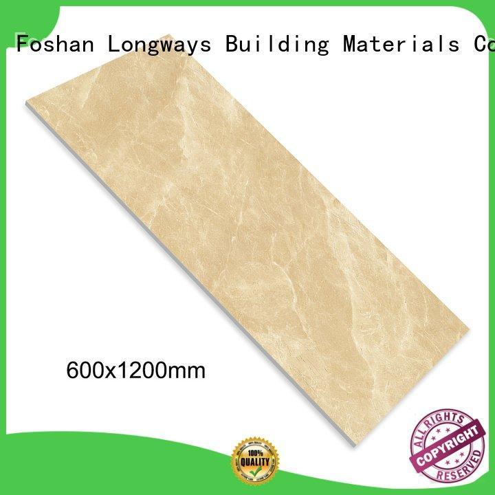 white floor daimond diamond marble tile LONGFAVOR