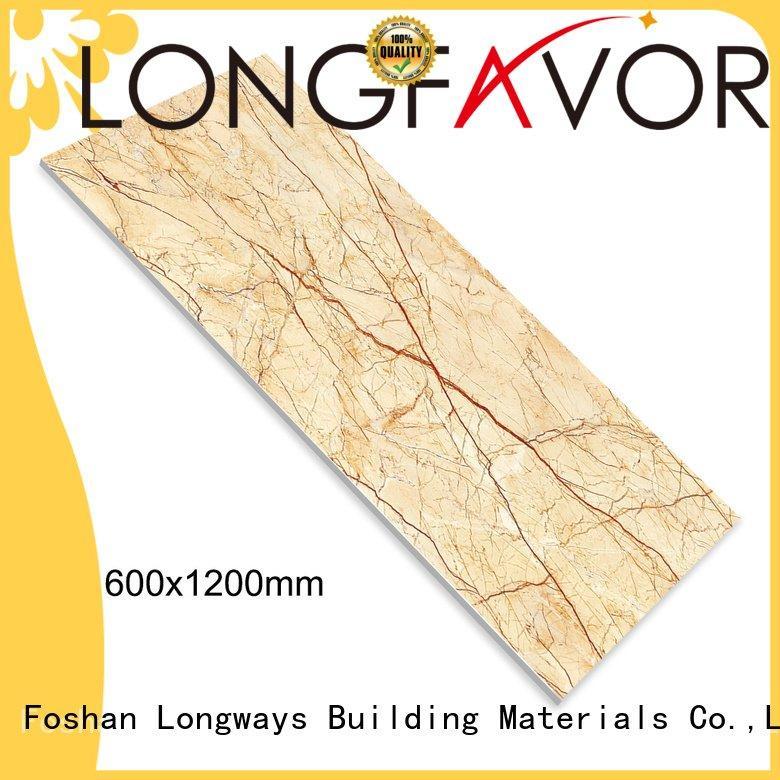 OEM diamond marble tile brown white cheap tiles online