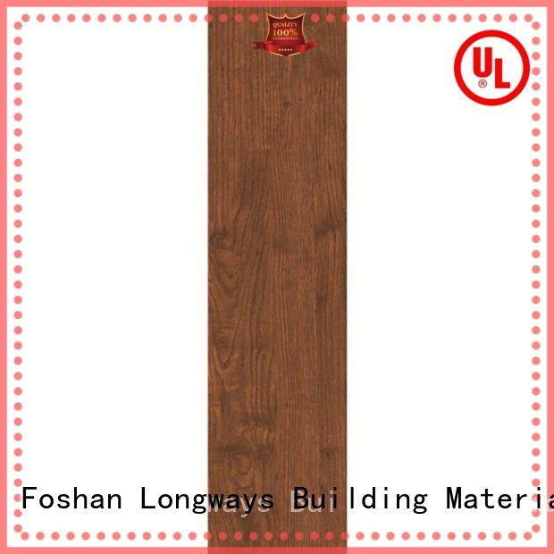 150x600mm Matt Brown Color Wood-look Ceramic Tile DH156R6A12