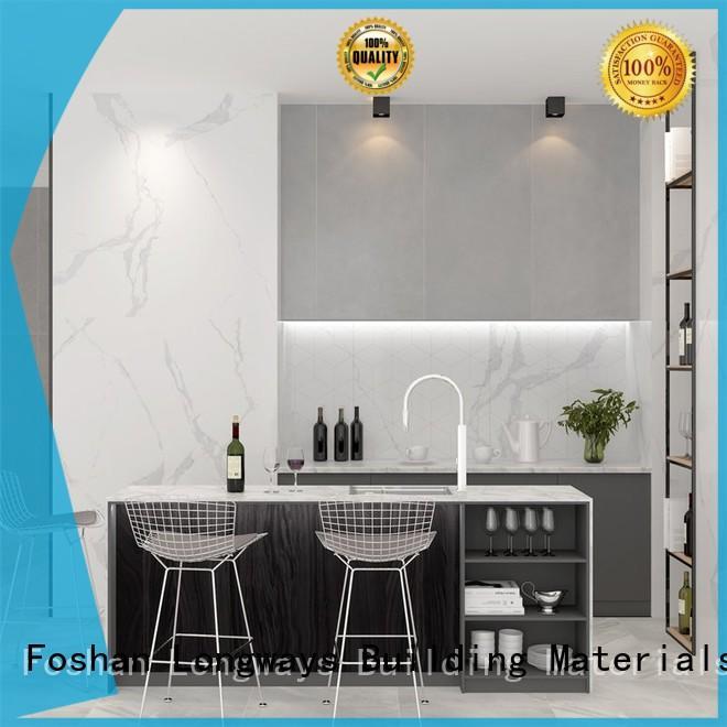 large glazed porcelain tile anti-fouling Coffee Bars LONGFAVOR