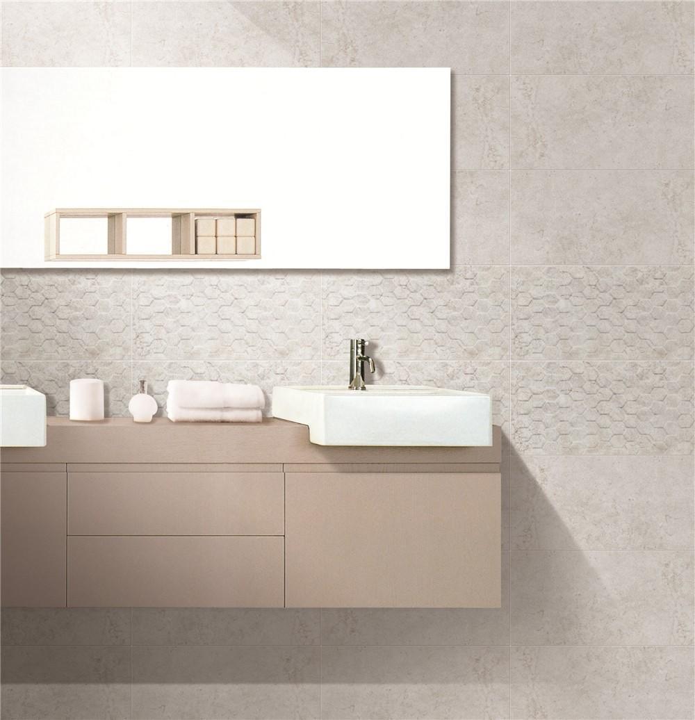LONGFAVOR white wave 300x600mm Ceramic Wall Tile bulk production Walls-1
