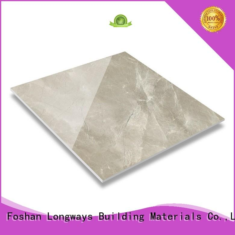 Quality LONGFAVOR Brand marble polished floor tiles which looks like marble resistant