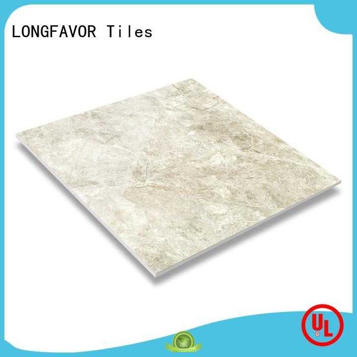 LONGFAVOR light ceramic bathroom floor tiles hardness Apartment