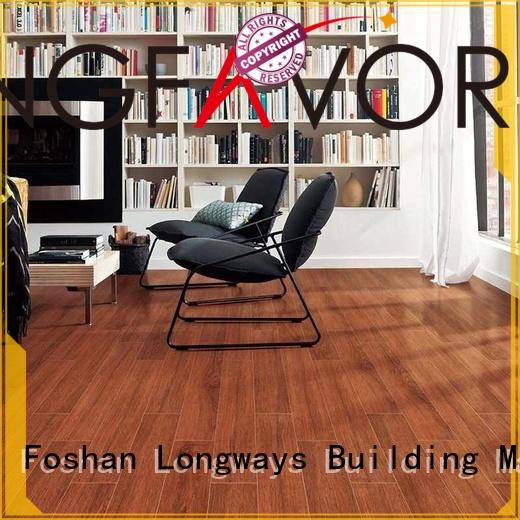diamond body ceramic tile flooring that looks like wood dh156r6a17 LONGFAVOR company