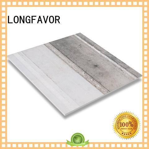 LONGFAVOR industry rustic porcelain tile multi-color Bank