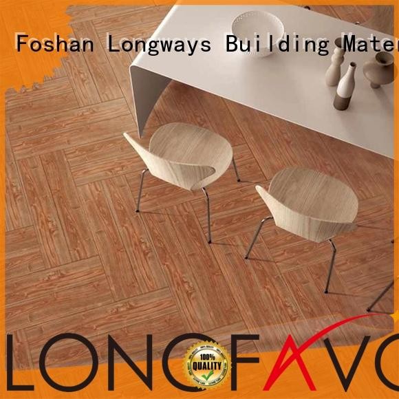 300x300 60x60cm wood look tile cost price surfaces LONGFAVOR company