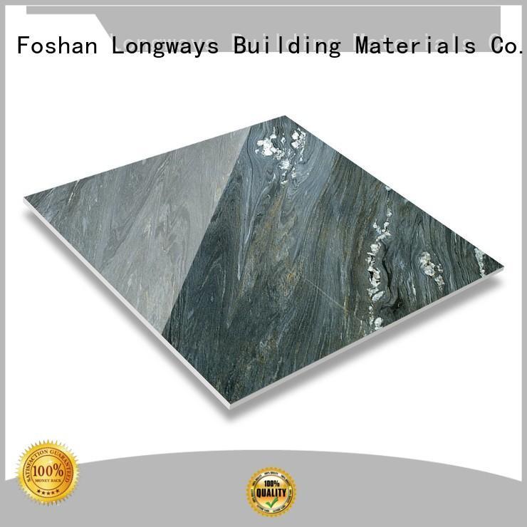 faux Custom stone 450x900 diamond marble tile LONGFAVOR rough