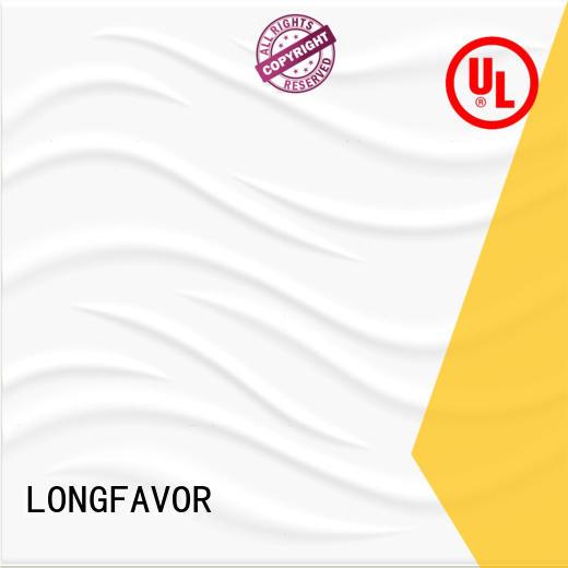 LONGFAVOR white wave 300x600mm Ceramic Wall Tile oem Borders