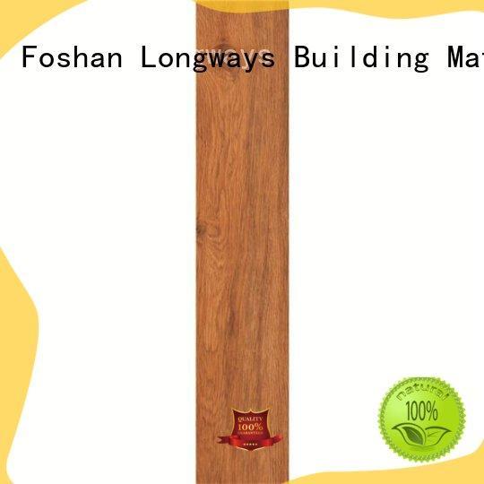 LONGFAVOR new design wooden floor tiles price popular wood School