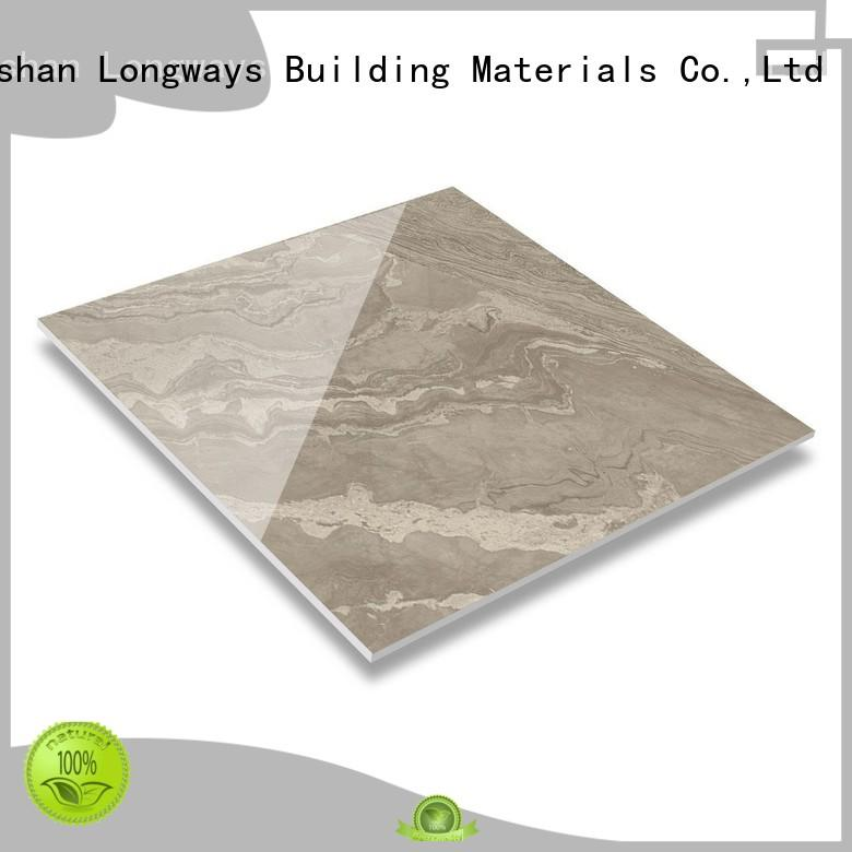 LONGFAVOR realistic decorative effect glazed ceramic tile high quality Super Market
