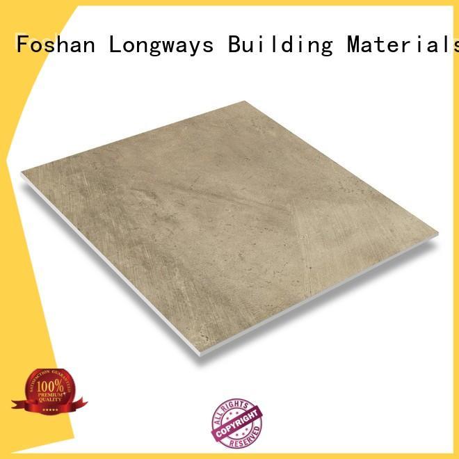 porcelain tile that looks like cement tile dh156r6a14 high quality stripes Warranty LONGFAVOR
