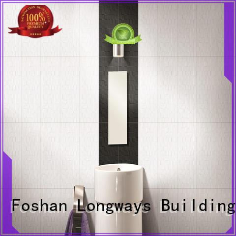 LONGFAVOR wave 300x600mm Ceramic Wall Tile for wholesale Borders