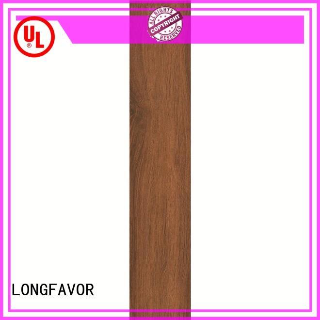 LONGFAVOR ps158002 wood look tile cost ODM Hotel