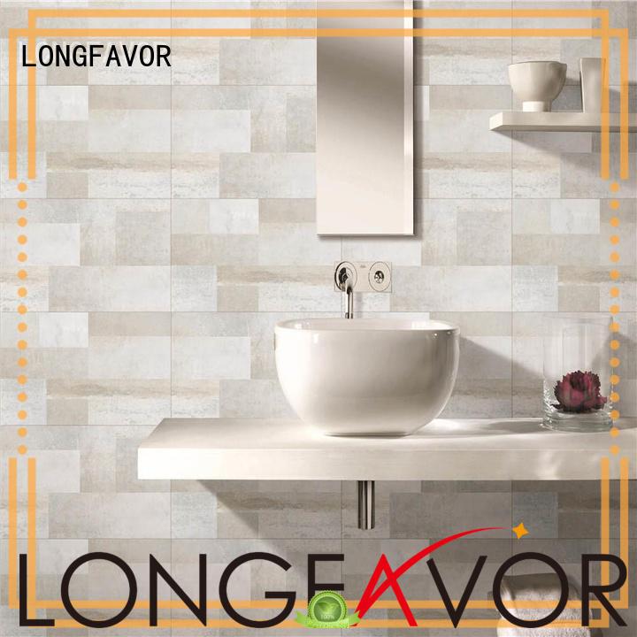 LONGFAVOR carrara 300x600mm Ceramic Wall Tile for wholesale Coffee Bars