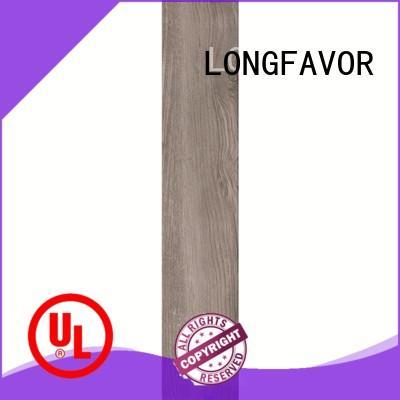 LONGFAVOR new design wooden floor tiles price supplier Apartment