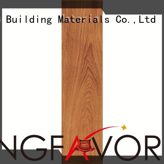 oak wood effect floor tiles antifouling 60x60cm price LONGFAVOR Brand wood look tile planks