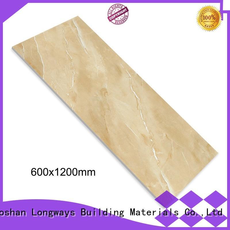 LONGFAVOR white discount tile store excellent decorative effect Apartment