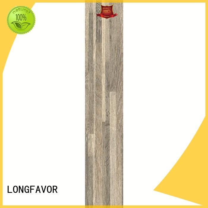 LONGFAVOR ps158405 wood effect outdoor tiles ODM Apartment