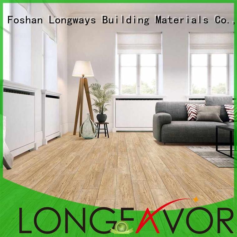 LONGFAVOR dh158r6b32 ceramic tile wood look planks popular wood Apartment
