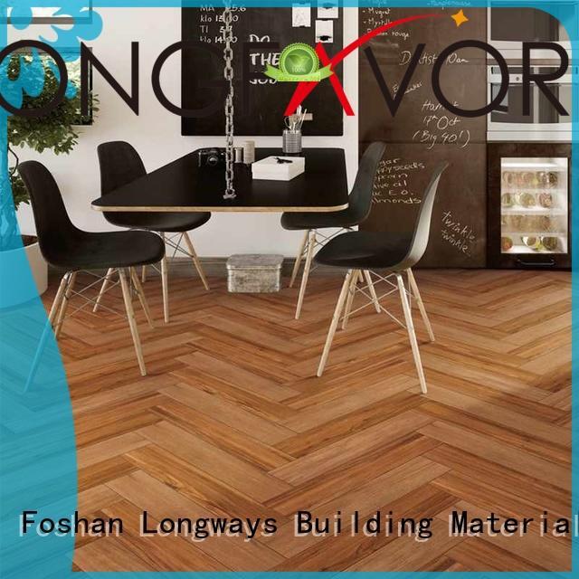 LONGFAVOR 150x800 wooden floor tiles price popular wood School
