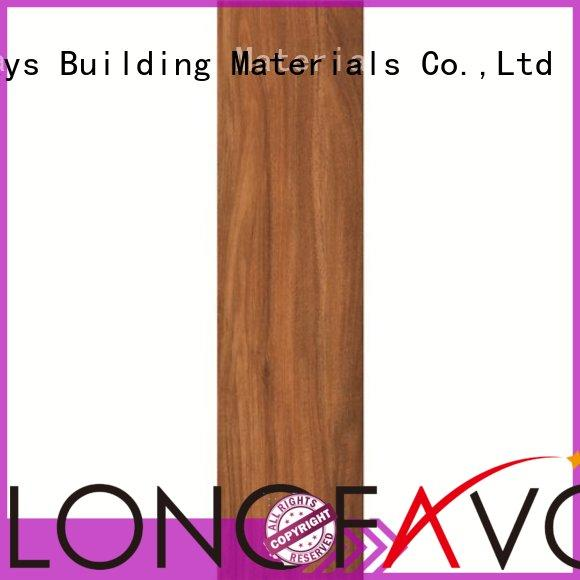 Quality LONGFAVOR Brand professional wood look tile planks