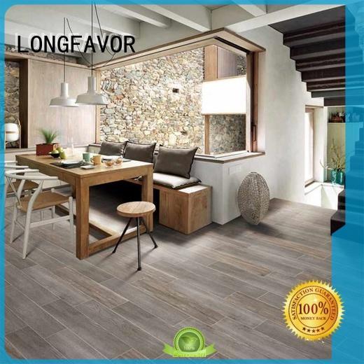 LONGFAVOR p158011m wood effect outdoor tiles ODM School