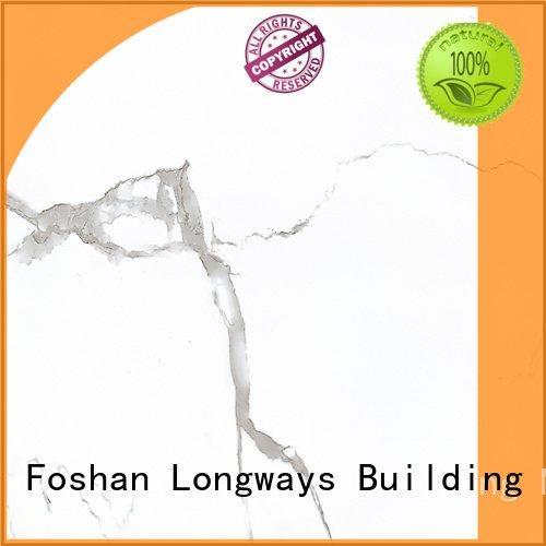 LONGFAVOR polished porcelain tiles warehouse white series tiles