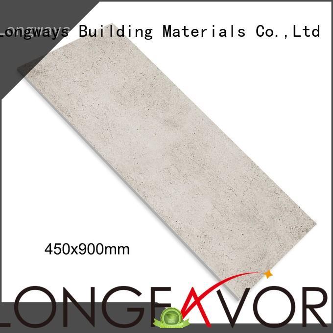 LONGFAVOR available 450x900 Rustic Porcelain Tiles for wholesale Super Market