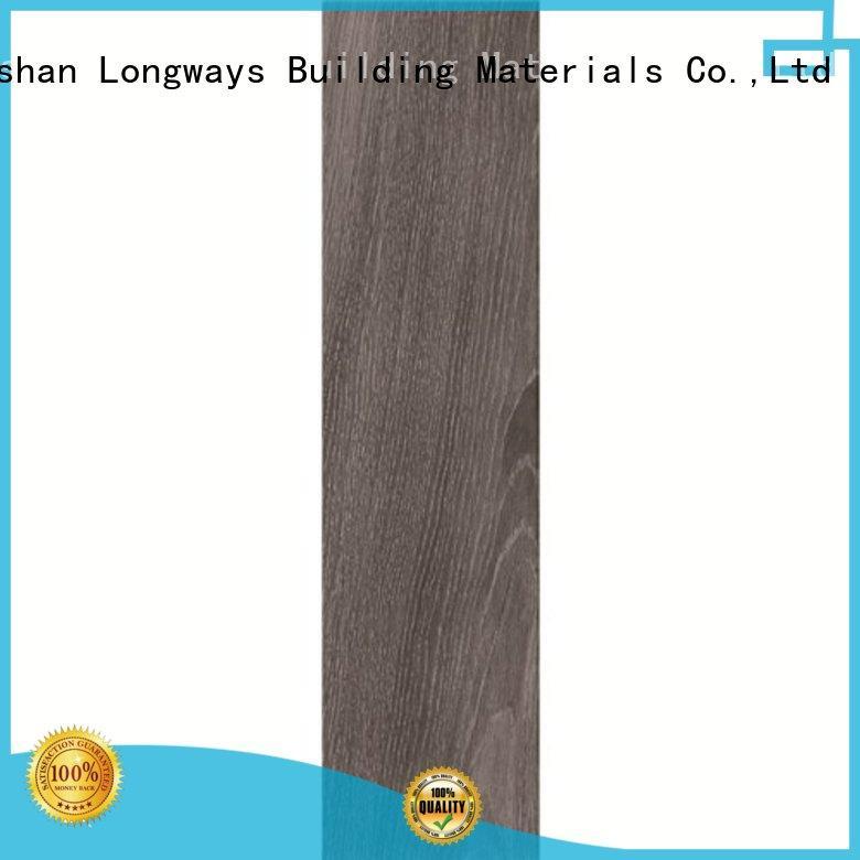 LONGFAVOR dh156r6a07 porcelain hardwood tile high quality Super Market
