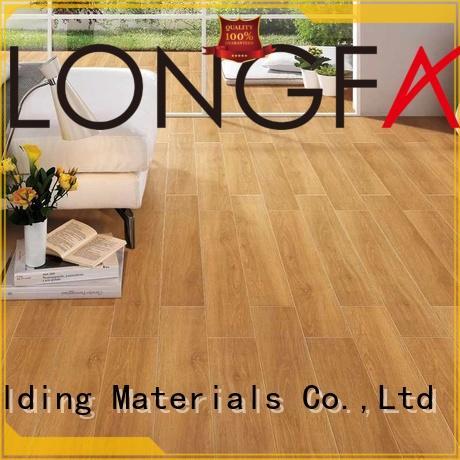 wooden wooden style floor tiles matt ODM Hotel