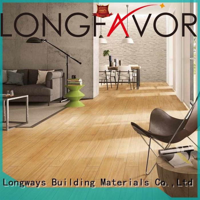 LONGFAVOR p1583031 porcelain hardwood tile supplier Apartment