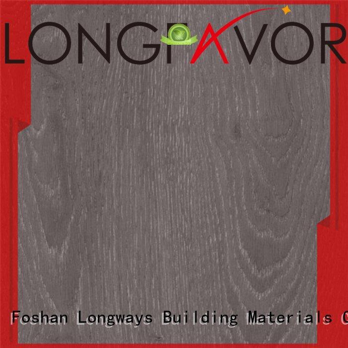 LONGFAVOR color wood look tile cost supplier Park
