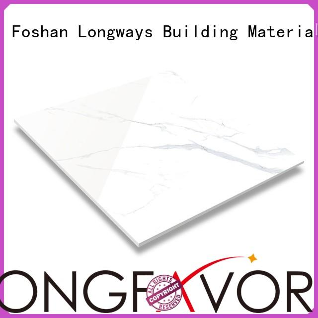 Quality LONGFAVOR Brand polished porcelain tiles 15x60 surface