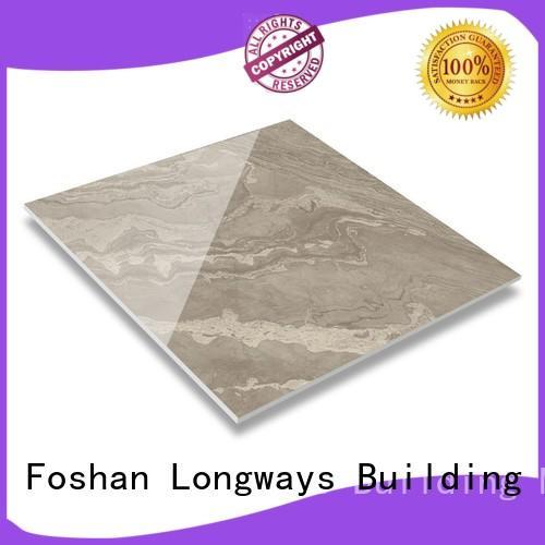 Custom market vein polished glazed tiles LONGFAVOR picture