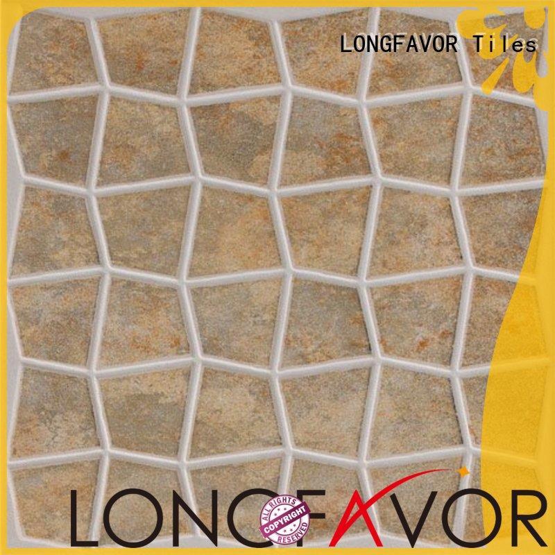 new design 300x300mm Ceramic Floor Tile ceramic hardness Apartment