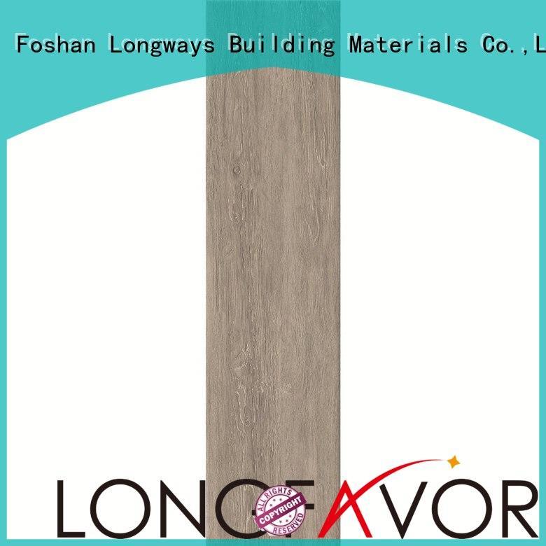 Wholesale bathroom wood look tile cost LONGFAVOR Brand