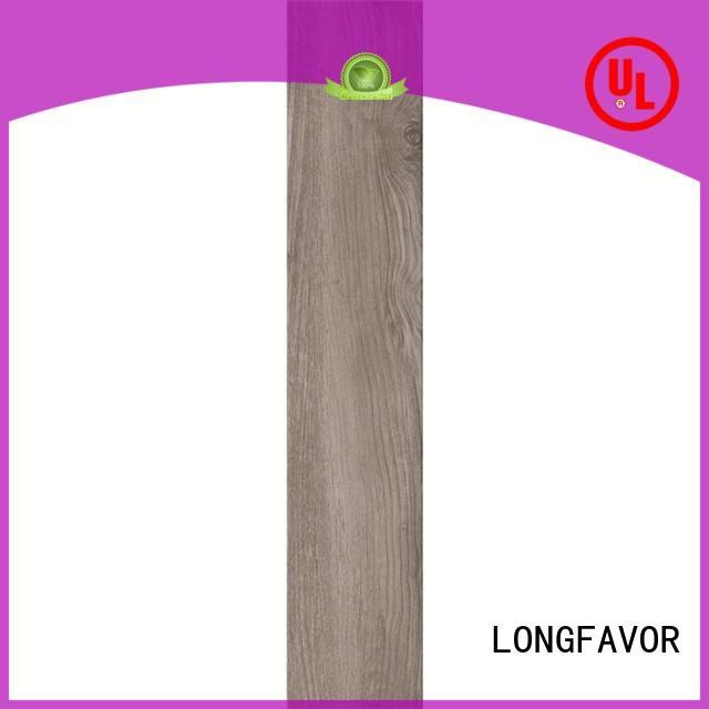LONGFAVOR p1583041 wooden style floor tiles ODM Hotel
