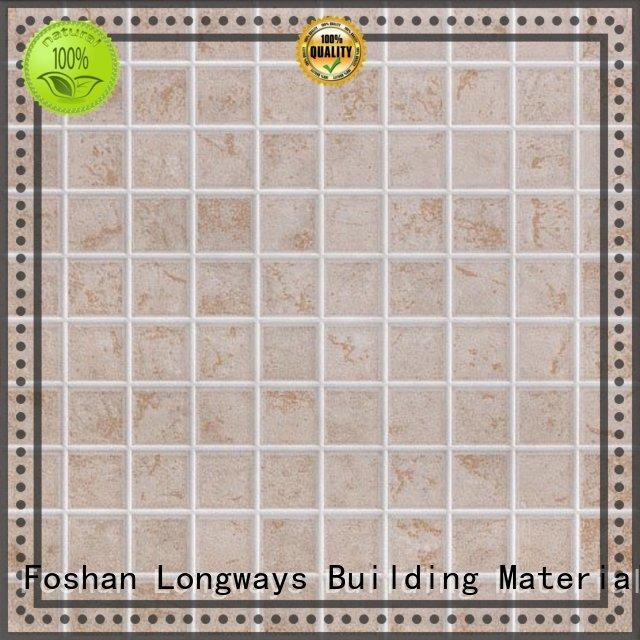 LONGFAVOR new design 300x300mm Ceramic Floor Tile strong sense Hotel