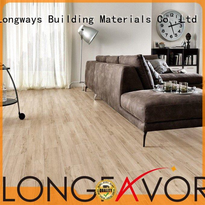 LONGFAVOR Brand wood dark wood look tile planks