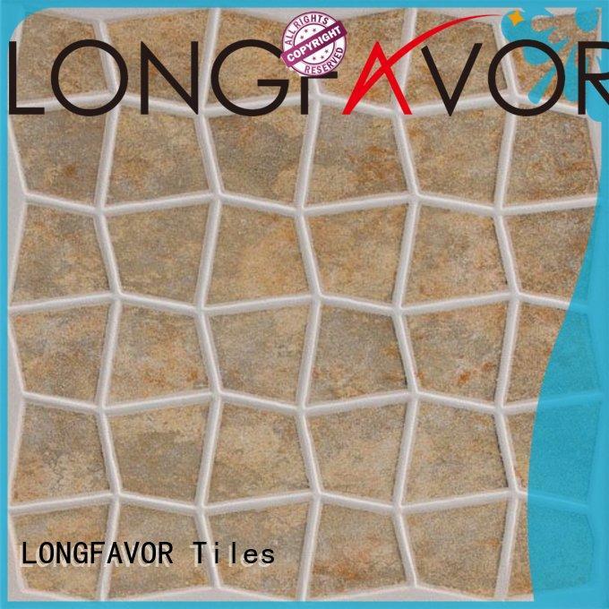 LONGFAVOR low price 300x300mm Ceramic Floor Tile excellent decorative effect Apartment
