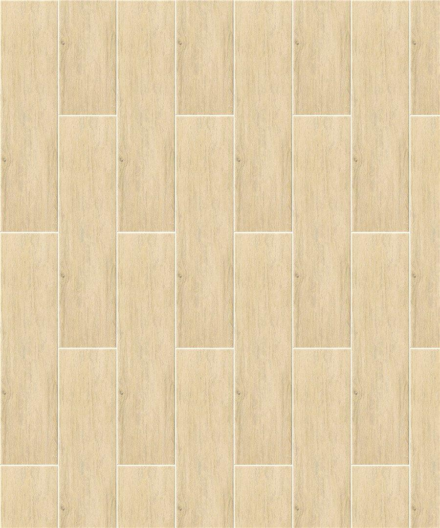 glossiness wood look tile planks dh156r6a13 high quality Shopping Mall-1