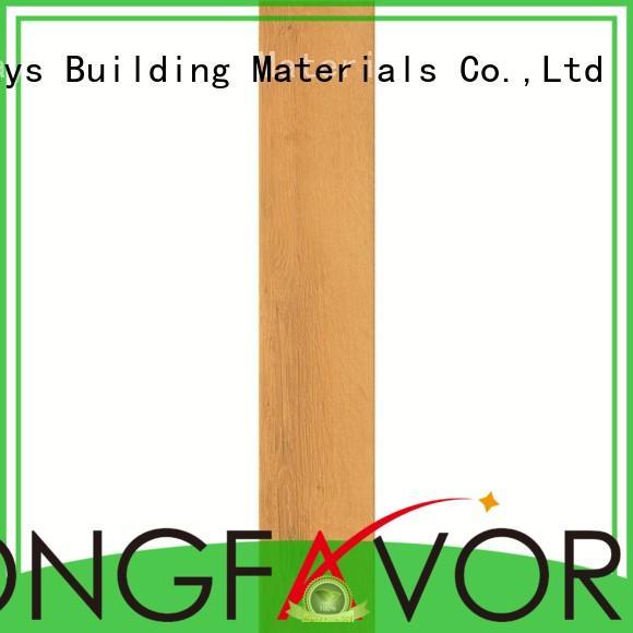 ceramic tile flooring that looks like wood polished gloss Warranty LONGFAVOR