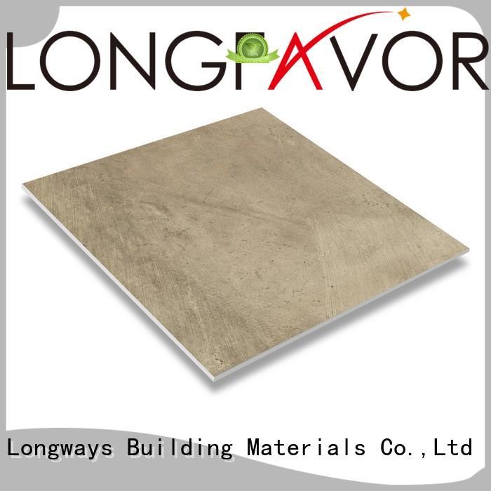 LONGFAVOR simple styple rustic stone tile customization Hospital