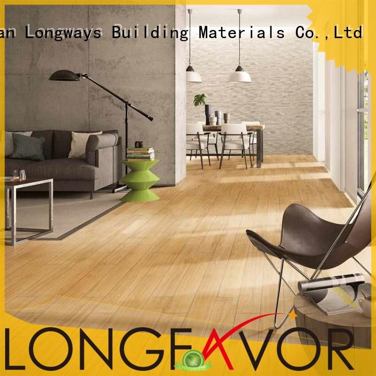 industrial resistant available ceramic ceramic tile flooring that looks like wood LONGFAVOR Brand