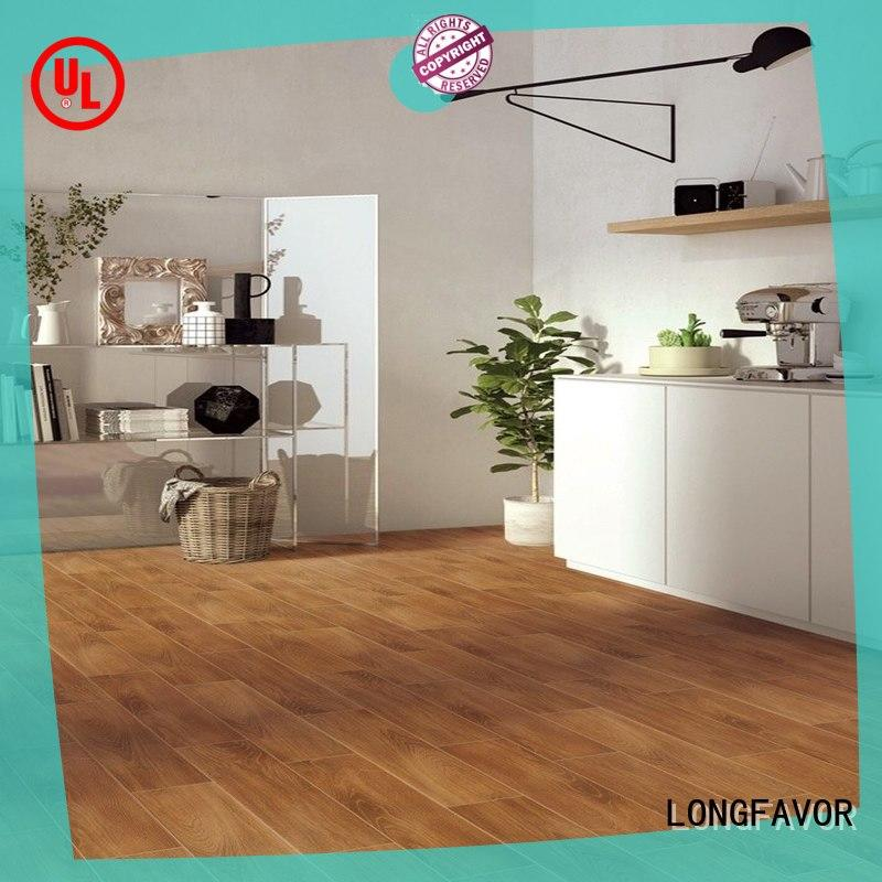 LONGFAVOR incomparable durability ceramic tile wood look planks free sample airport